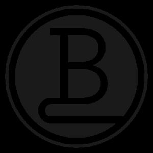 Bright White Space Logo - Black