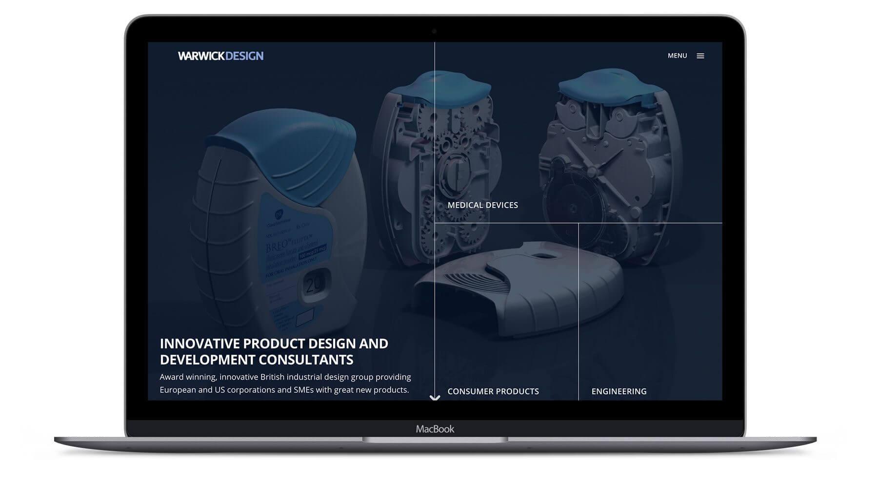 Warwick Design  - Web Design