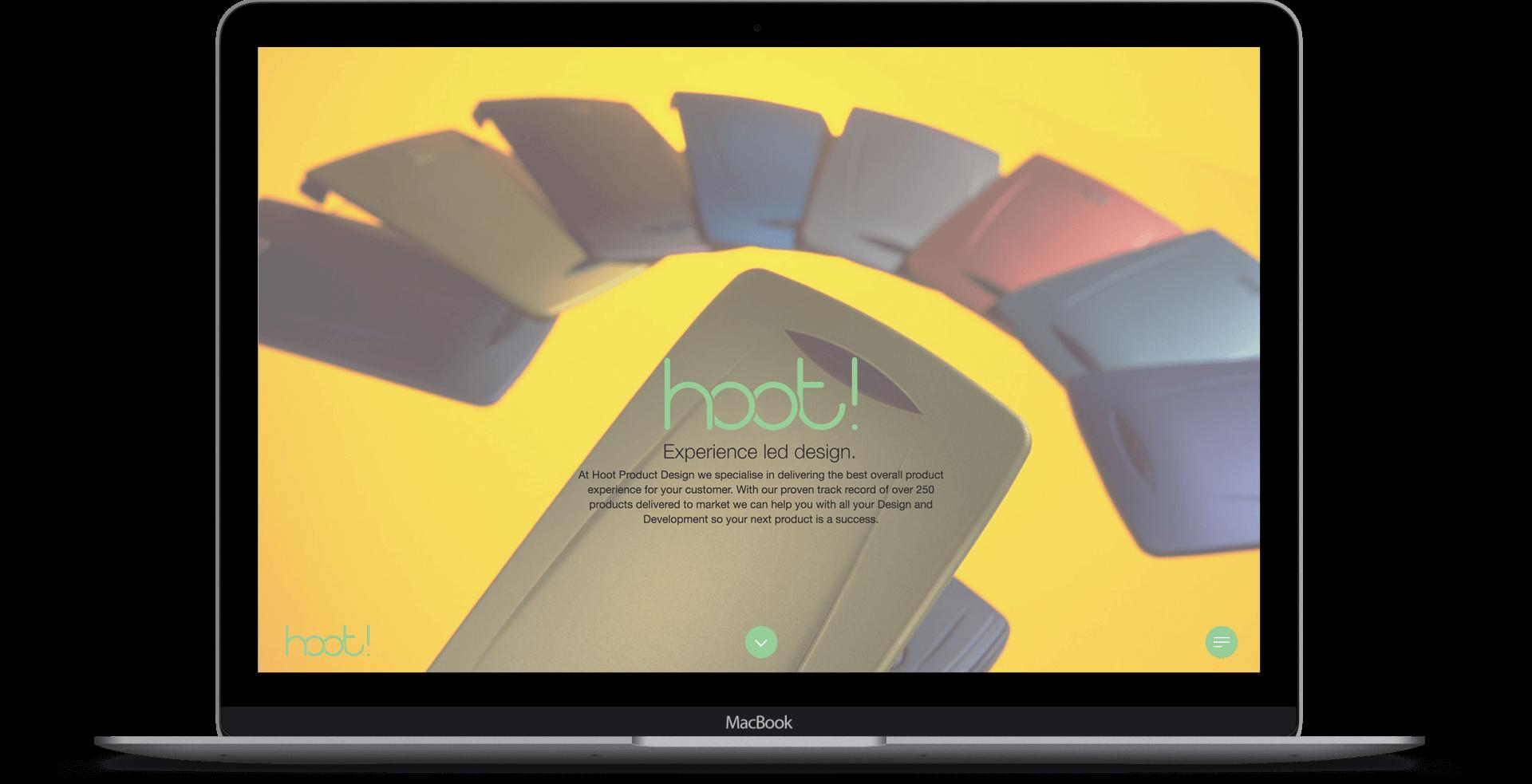 Hoot Product Design  - Website Re-design