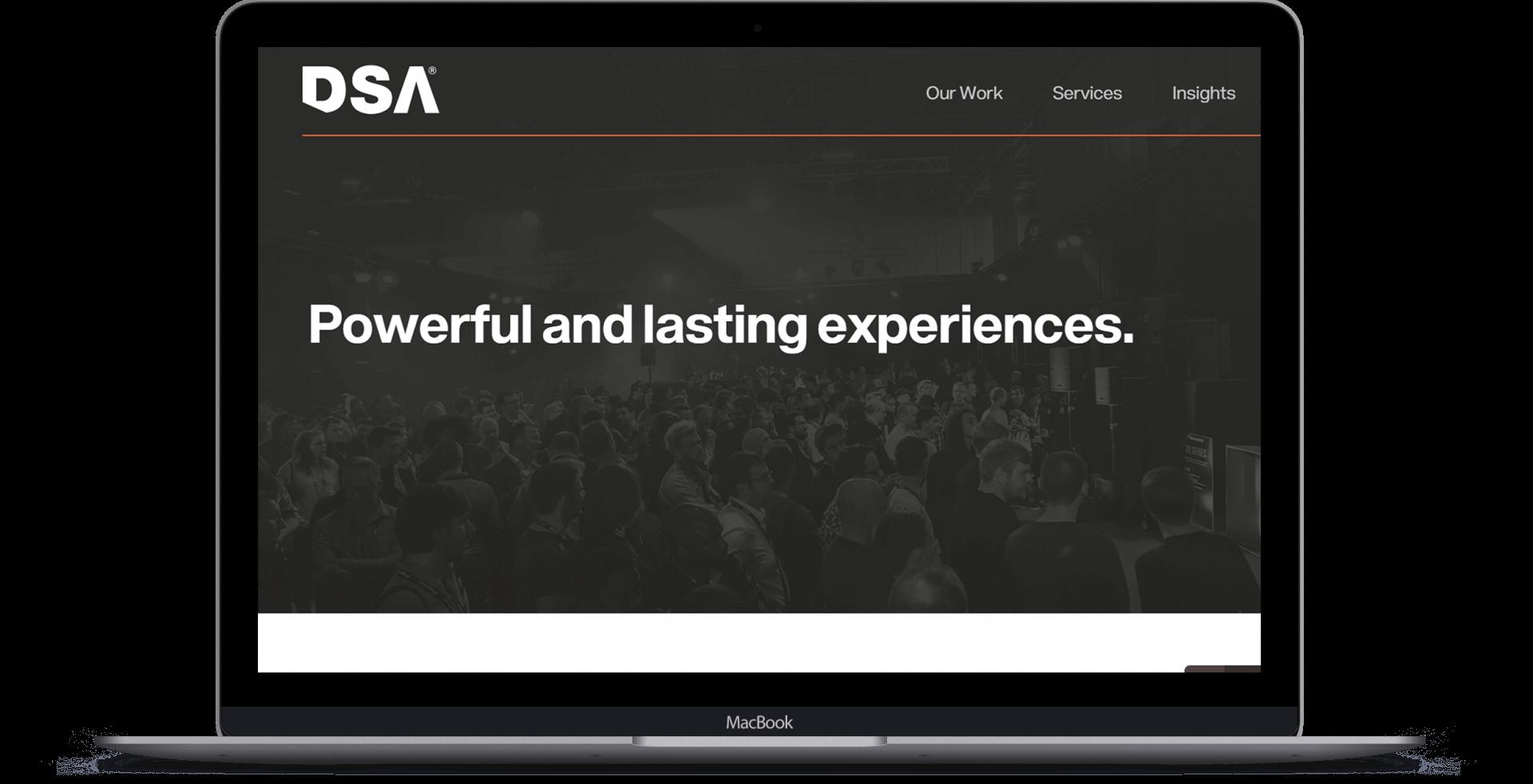 DSA  - Website Design