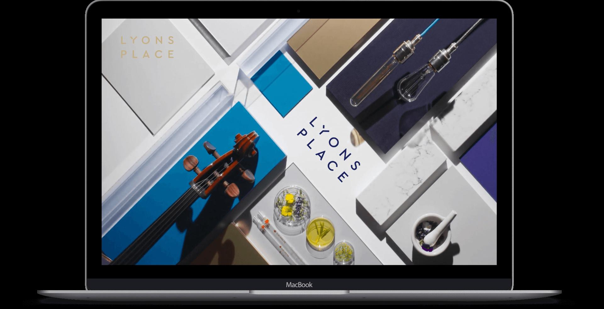 Lyons Place  - Website Development