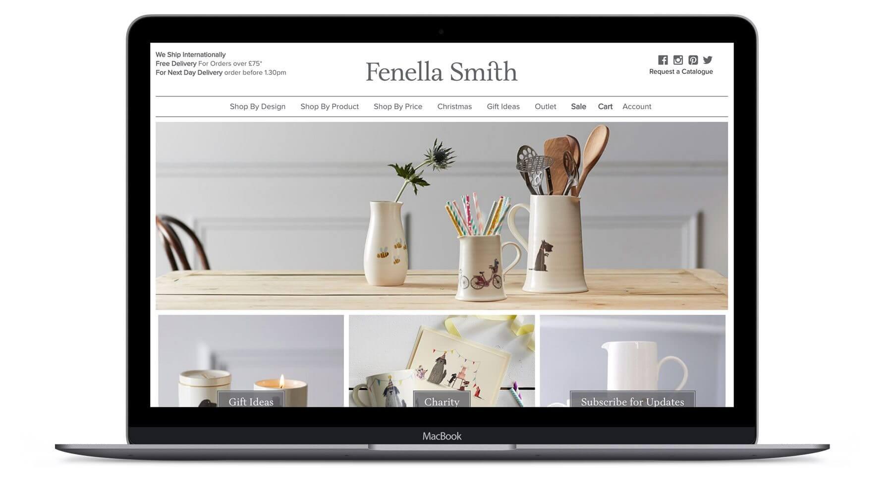 Fenella Smith  - Ecommerce Web Design