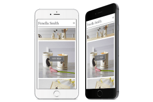 Responsive Ecommerce Web Design for Fenella Smith