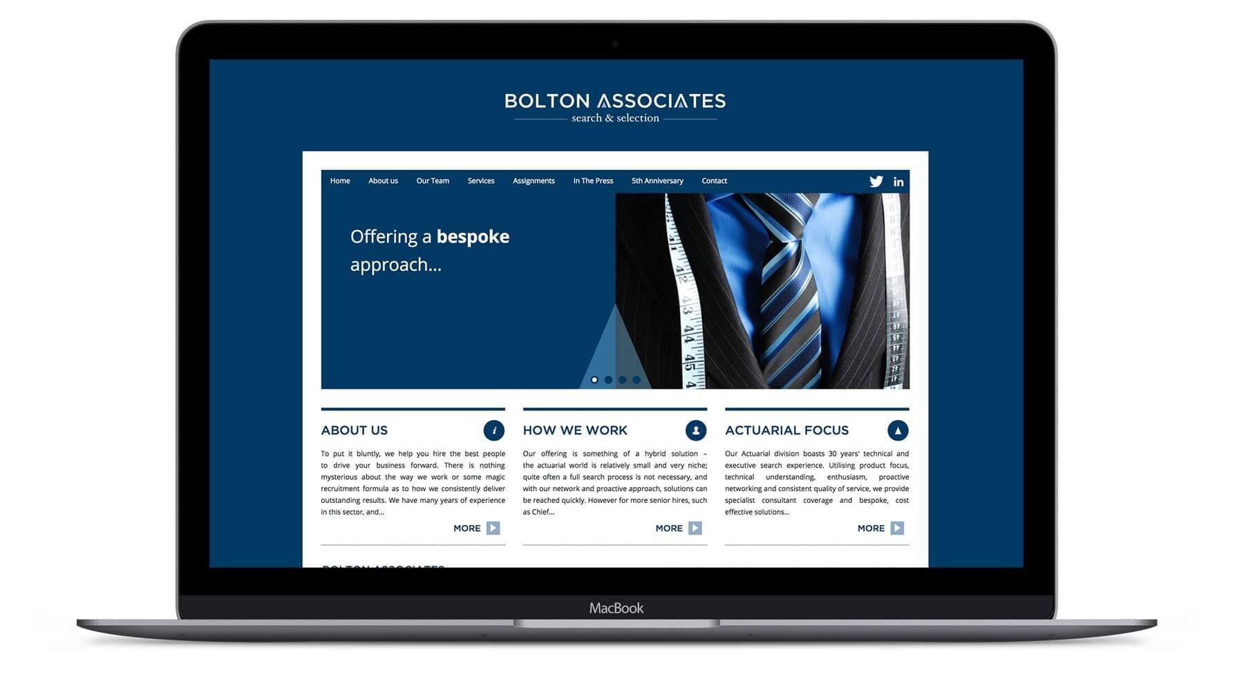 Bolton Associates  - Branding