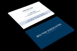 Business Card Design for Bolton Associates