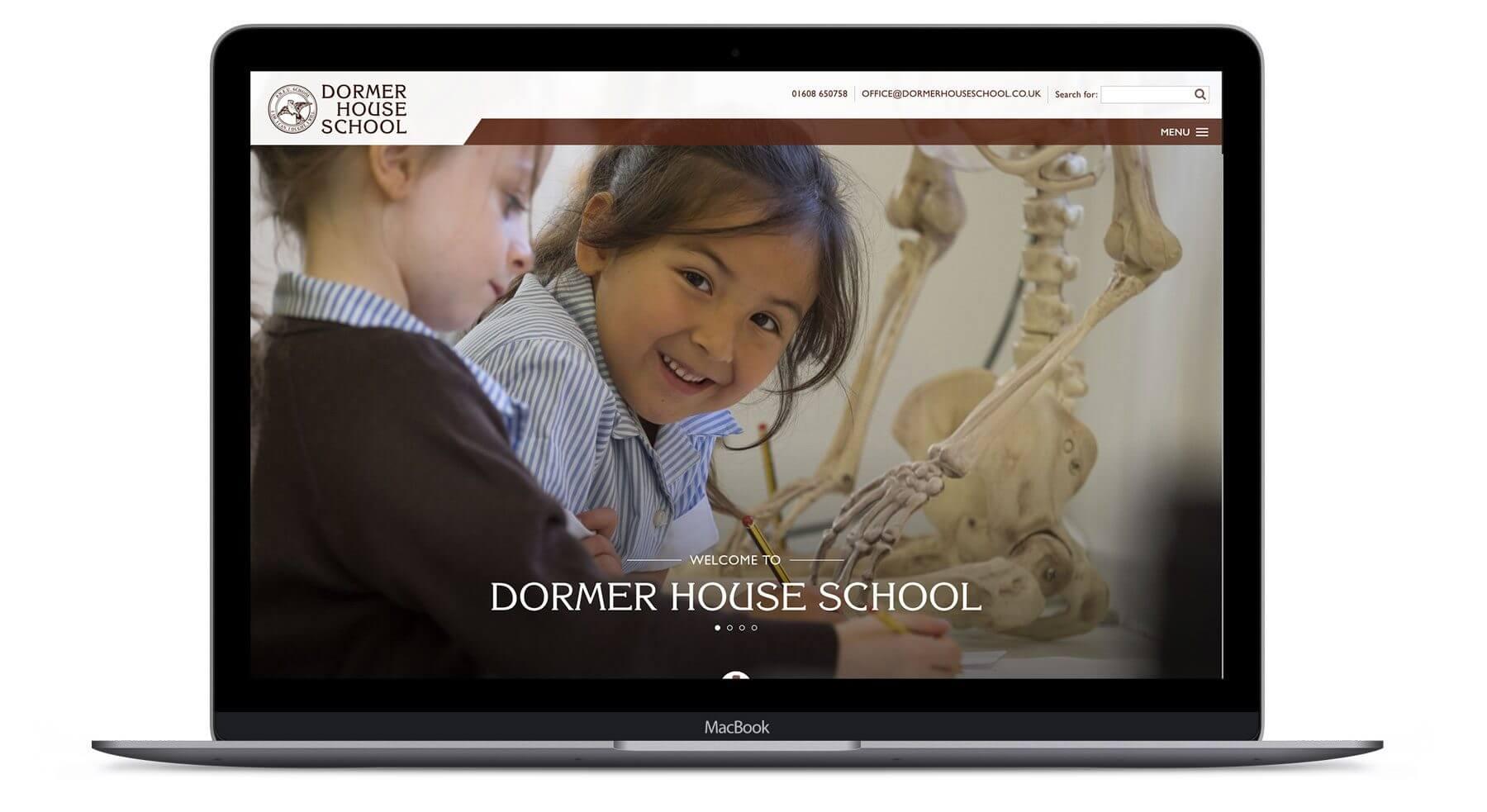 Dormer House School  - Web Development