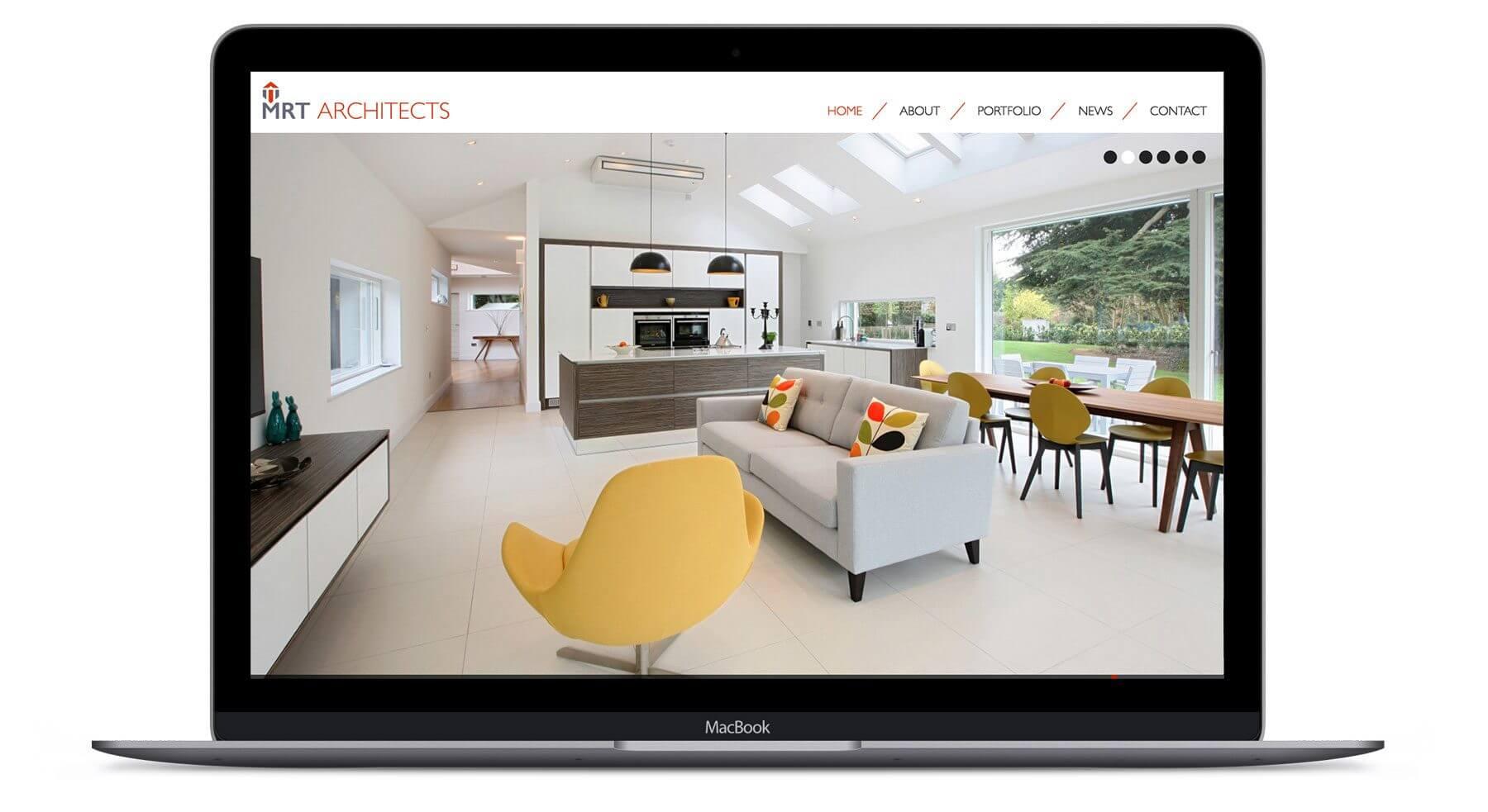 MRT Architects  - Architect Web Design