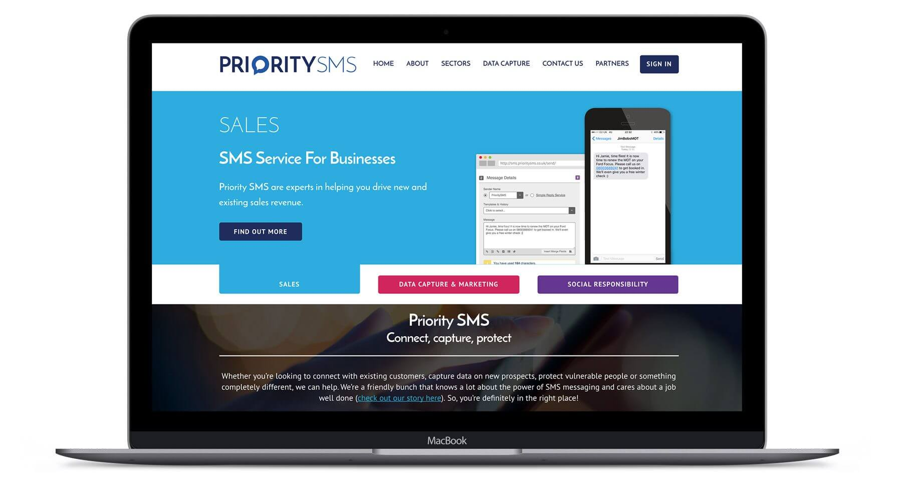 Priority SMS  - Branding