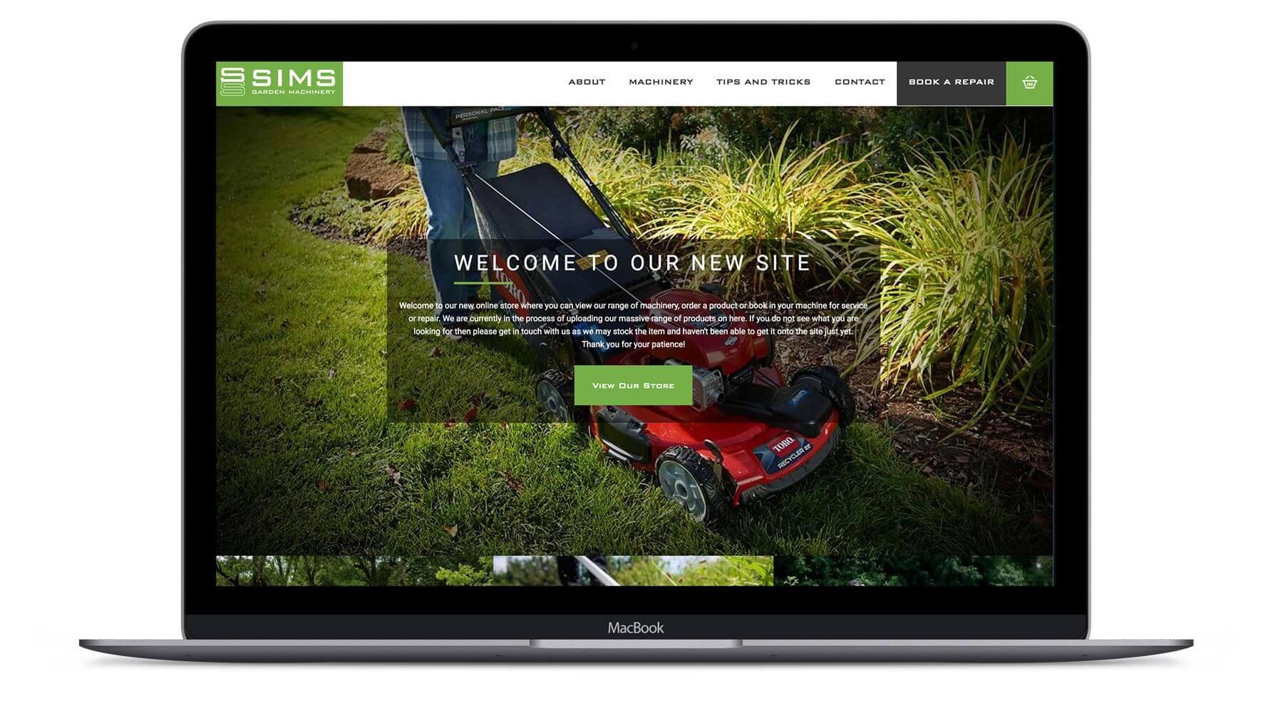 Sims  - Online Shop