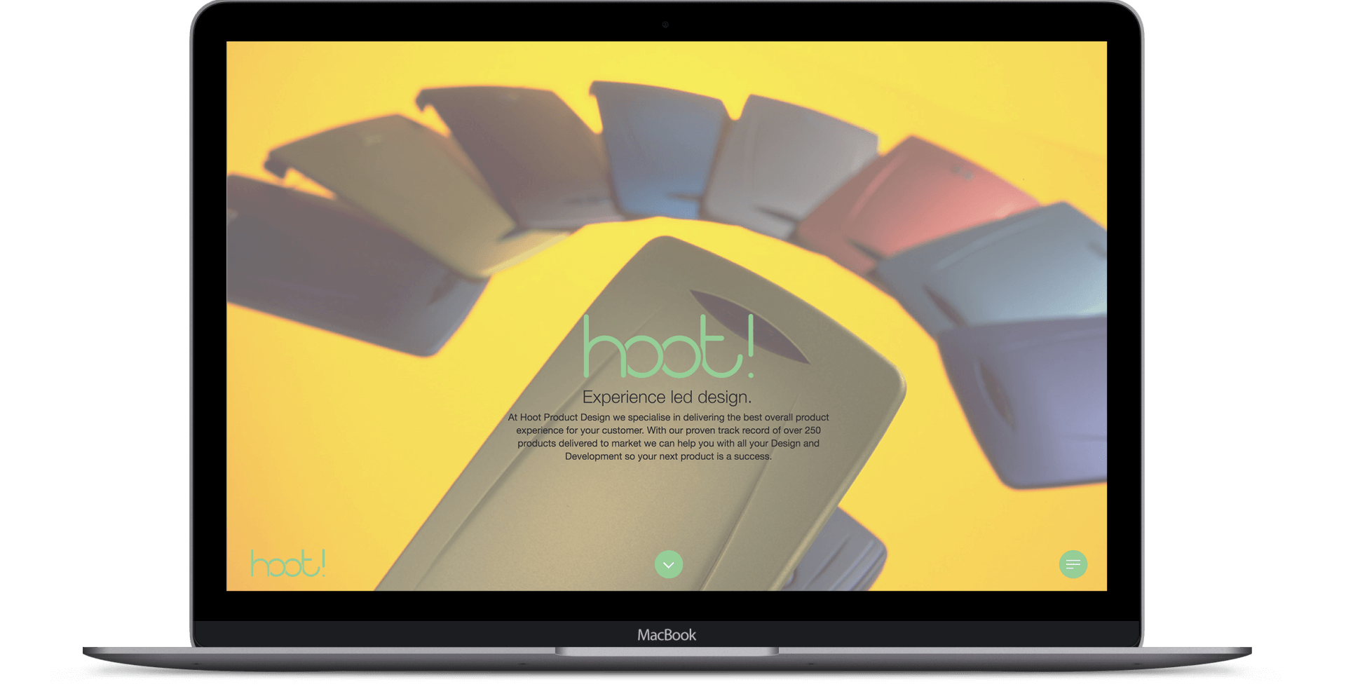 Hoot Product Design  - Website Re-design