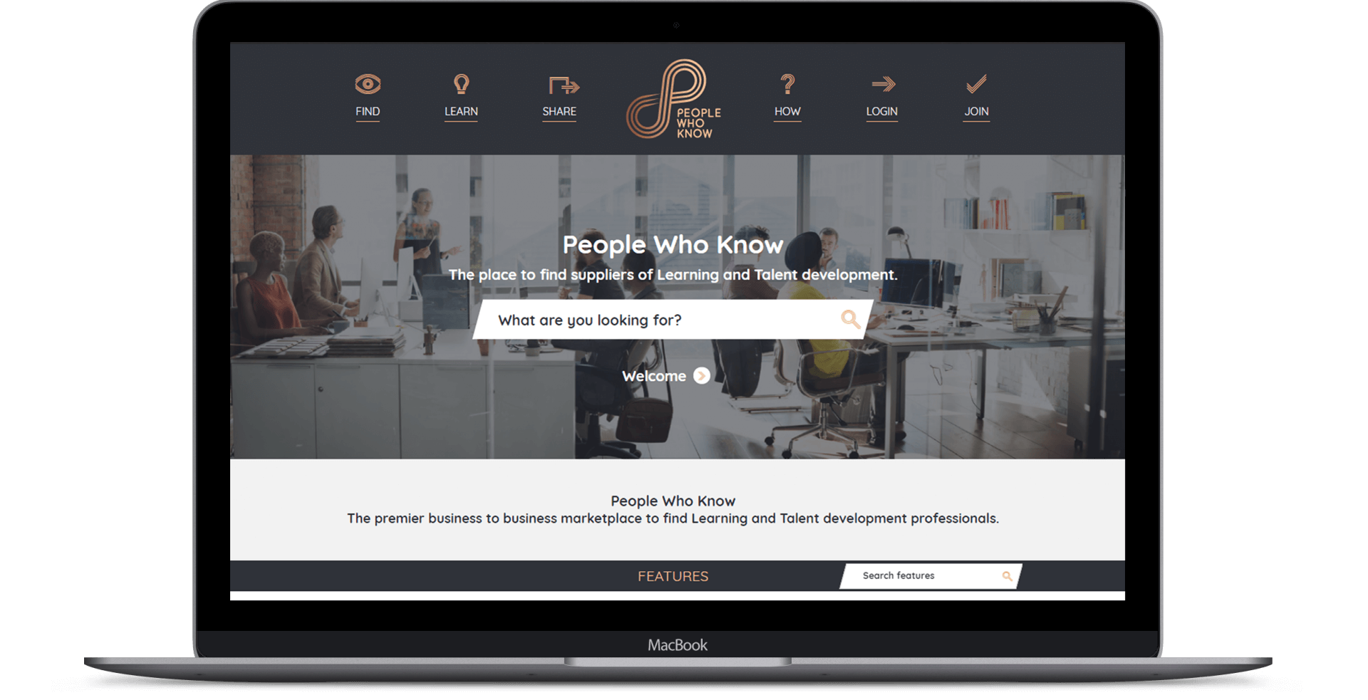 People Who Know  - Web-app