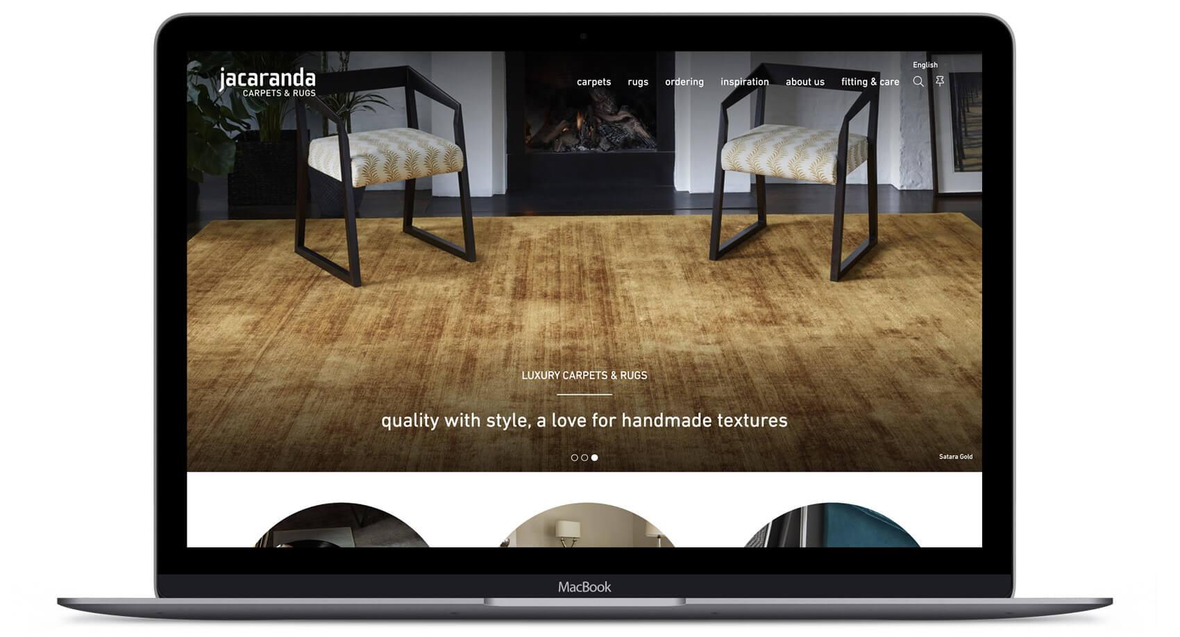 Jacaranda  - Website Design & Development