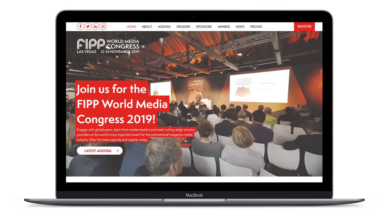 FIPP World Congress  - Website Design & Development