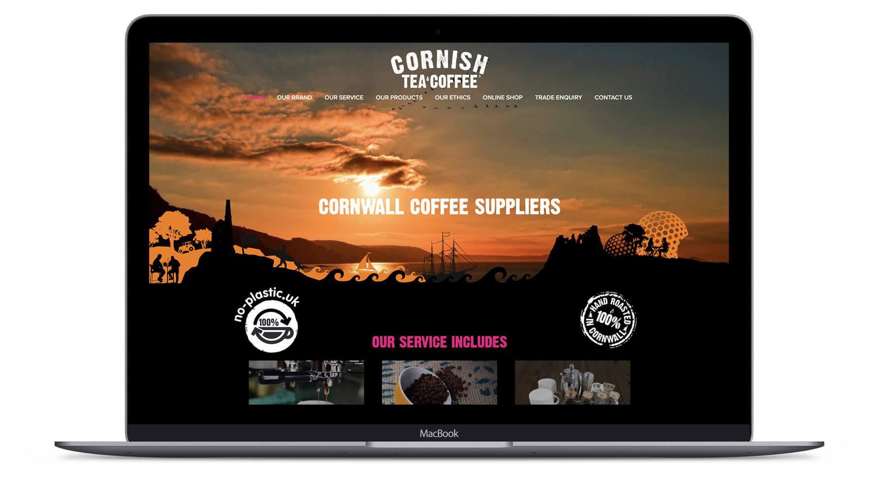 Cornish Coffee  - Website Design & Development